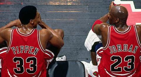 NBA好基友:乔丹阔绰送跑车,皮蓬将总冠军戒指拆成耳环送乔丹