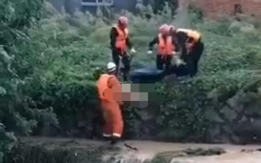 福建福州5人躲雨时落水 3人死亡2人仍失联|救援队