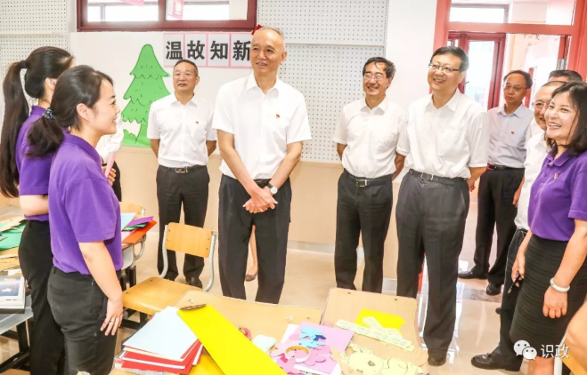 蔡奇陈吉宁再赴回天地区:共建共治共享美好幸福新家园!
