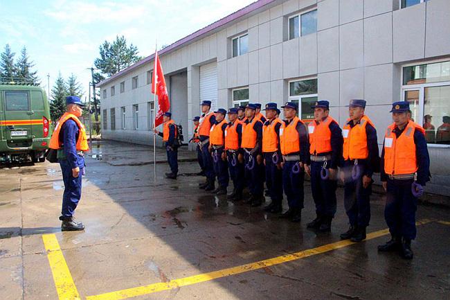 延边支队大蒲柴河森林消防中队开展实战化抢险救援演练