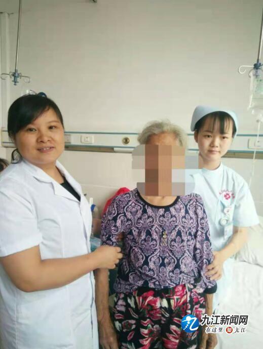 80岁婆婆双附件囊肿 柴桑区人民医院腹腔镜微创切除