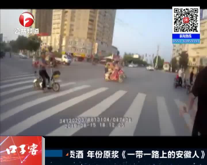 《夜线60分》泗县:骑车违章被查  男子阻碍执法被拘