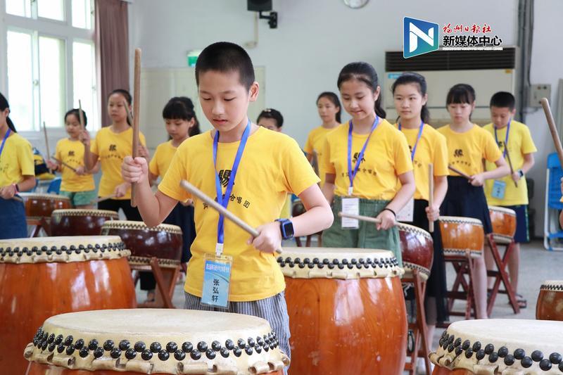 """第五届""""两马""""青少年文化体育夏令营在马祖举行"""