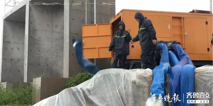 点赞!济宁市水务抢险队抵达桓台县田庄镇抗洪救灾