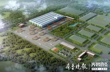 青岛绿色建筑产业园平度开建,年产装配式部件20万方