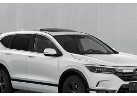一款完全基于CRV平台开发的广汽本田新款SUV正式亮相!