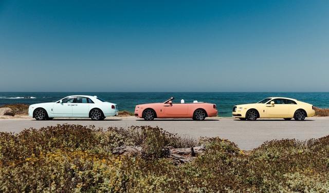 劳斯莱斯发布三款定制版车型,专为年轻消费者打造