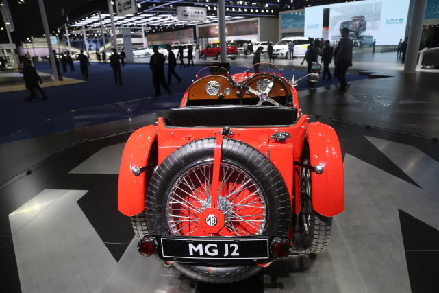 MG名爵 MG J2 老爷车,英国传奇经典,上海车展实拍!