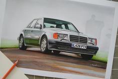 【马克】梅赛德斯-奔驰 500E (1991)