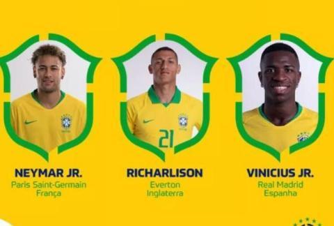 新一期巴西国家队大名单:头号球星回归,美洲杯金靴缺席