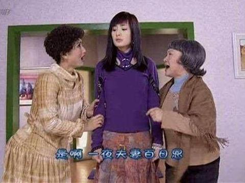 杨幂竟客串过《粉红女郎》, 四方脸型,遭陈好嫌弃