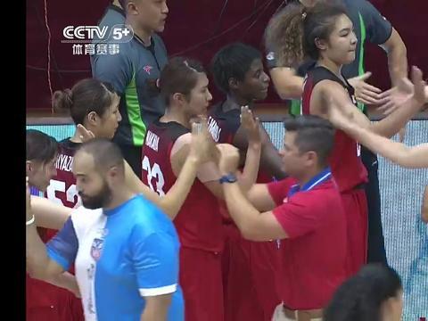 女篮锦标赛:日本女篮队VS波多黎各队