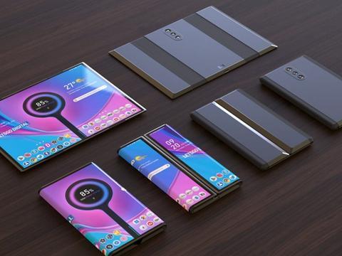 小米折叠屏手机机曝光,采用双折叠设计,后置三摄折叠后竟不可用