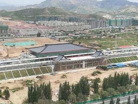 8月京张高铁宣化站点新施工进程揭秘 附实景图