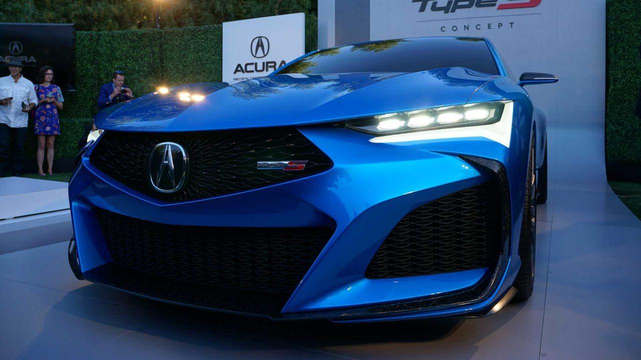 讴歌重磅车型亮相车展 TYPE S概念车展示未来设计方向