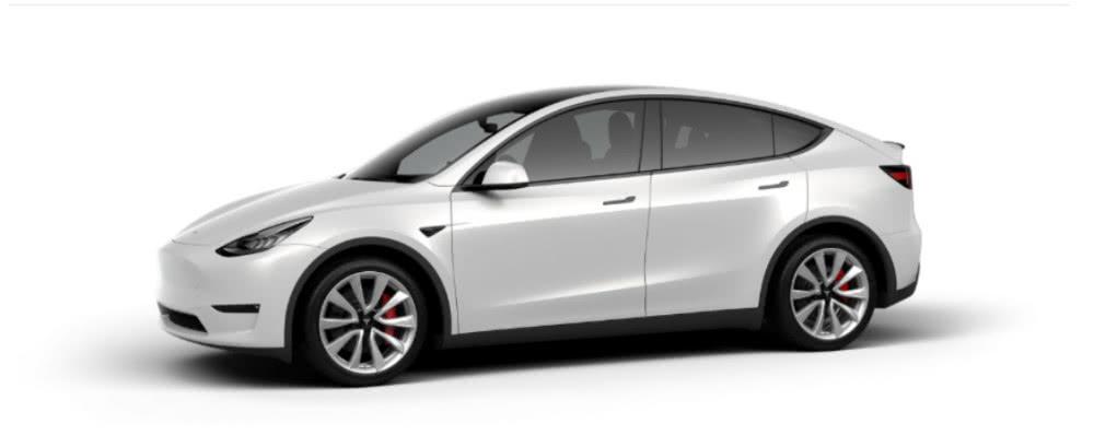 特斯拉下调未量产ModelY预定价格:性能版降价2000美元