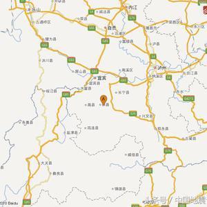 四川宜宾市长宁县附近发生3.3级左右地震