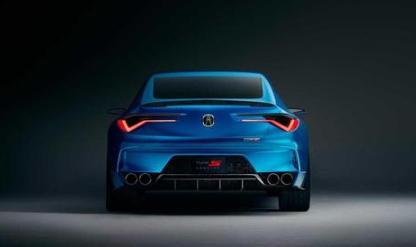 造型惊艳全场,讴歌Type S概念车官图正式发布