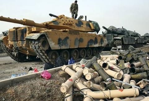 土耳其:叙利亚派出间谍引爆了弹药库,这是警告土军不要谋划侵略