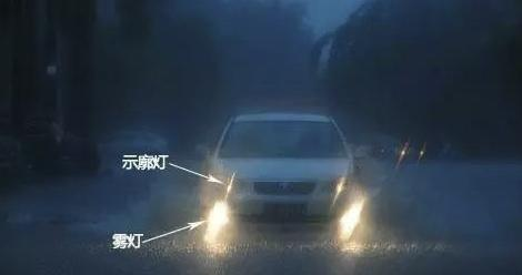 台风暴雨天气行车,这5个技巧一定要懂,能保命