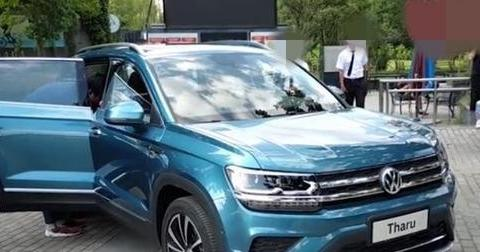 大众全新SUV实车亮相,颜值比RAV4帅十倍,或19万起售