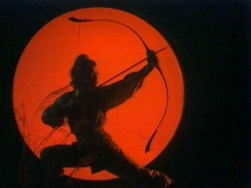 五个版本的郭靖射雕英姿,看看哪个最经典?