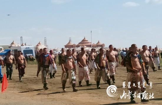 内蒙古自治区第二十九届旅游那达慕开幕
