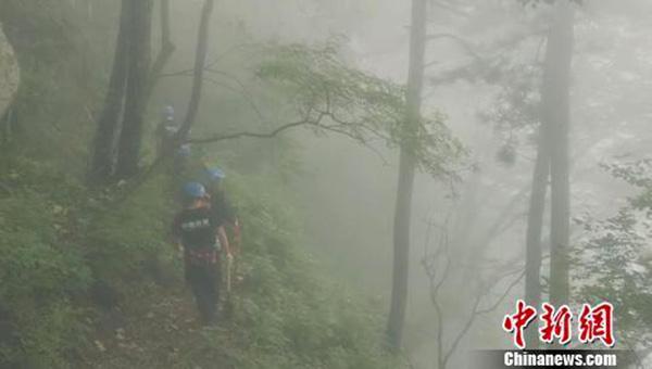上大副教授河南汉山景区失联半月 救援队员这样说|失联|救援|景区