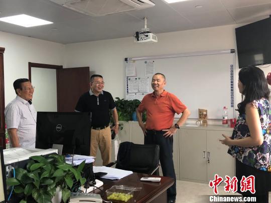 菲律宾《世界日报》代表团参访中国新闻社