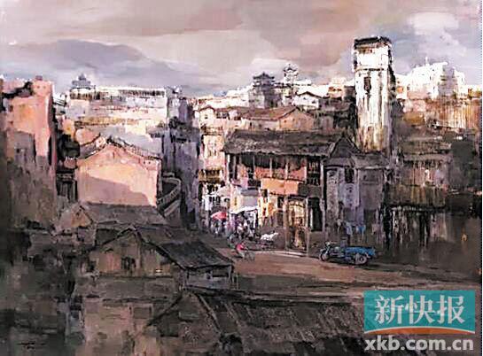 大芬美术馆馆藏全国中青年油画精品展