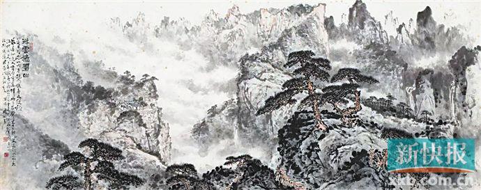 """广东春拍显示市场仍在深度调整 """"关黎""""始终是岭南书画领域重要""""名片"""""""
