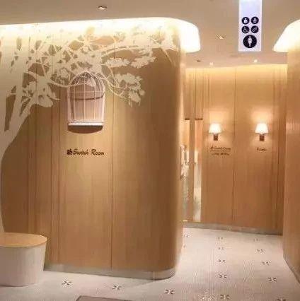 日本商场的卫生间,看看什么叫人性化设计!