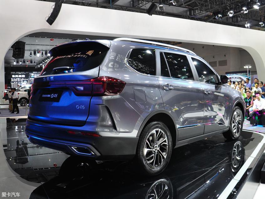 SWM斯威G05或成都车展上市 七座中型SUV