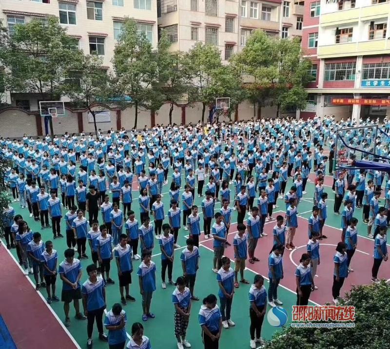 武冈市蓝深学校:投资500万元,让师生清凉度夏