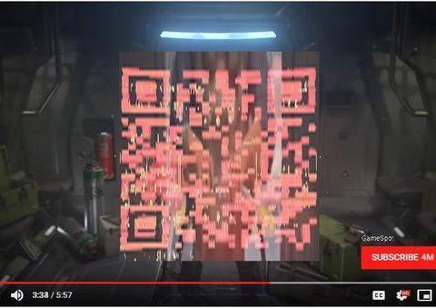 玩家发现《光环:无限》E3宣传片神秘二维码