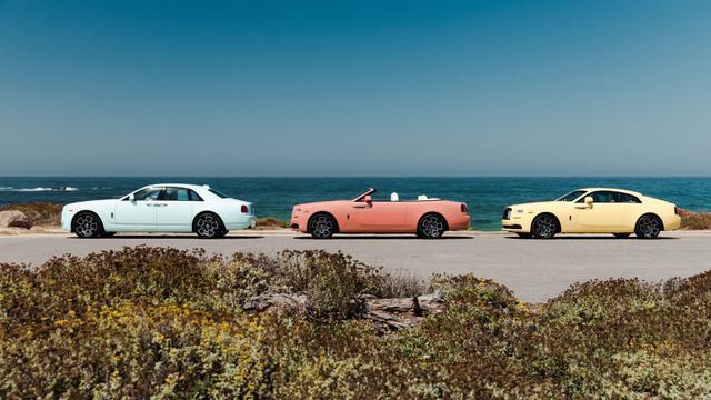 玩色调谁也玩不过劳斯莱斯 三款特别版车型限量13台