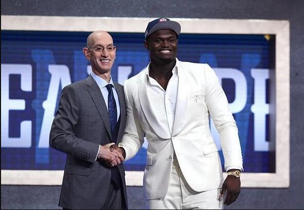NBA史上5大状元签概率最低的球队,骑士2次上榜,今年鹈鹕未入选