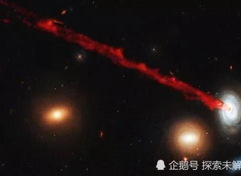 长20万光年,宽7千光年!哈勃揭示星系在死亡边缘喷出的气体