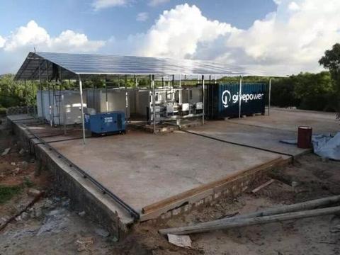 这种太阳能供电设备可以将盐水变成新鲜的饮用水
