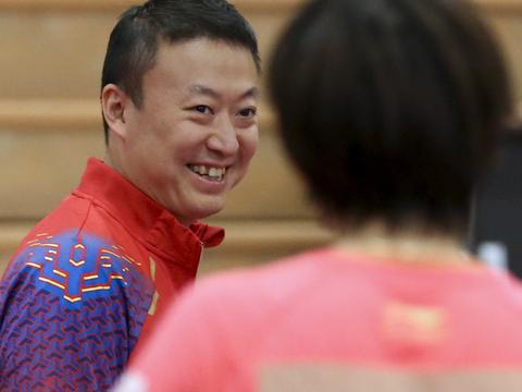 乒乓球——中美国家乒乓球队在美共同训练