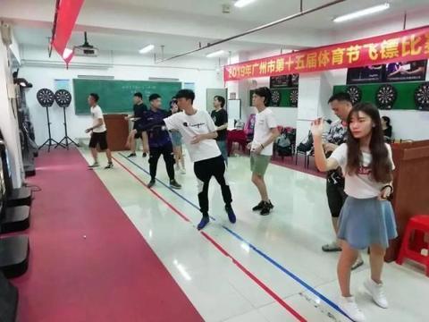 本地广州市体育节飞镖比赛惊艳亮相,原来有这么多飞镖高手