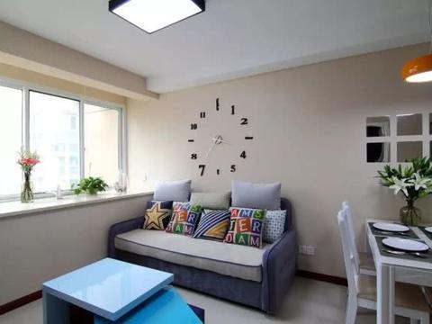 79㎡小户型现代简约风,简单的装修也可以承载满满的幸福!