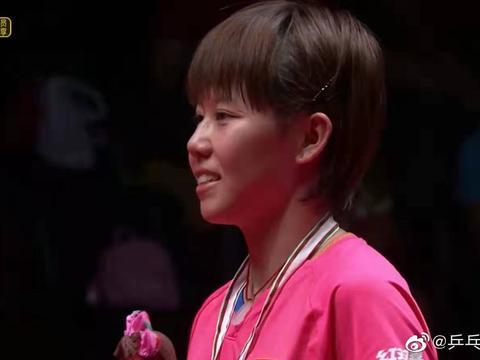 陈幸同锋芒毕露获女单冠军,网友认为可以代替朱雨玲成为国乒主力