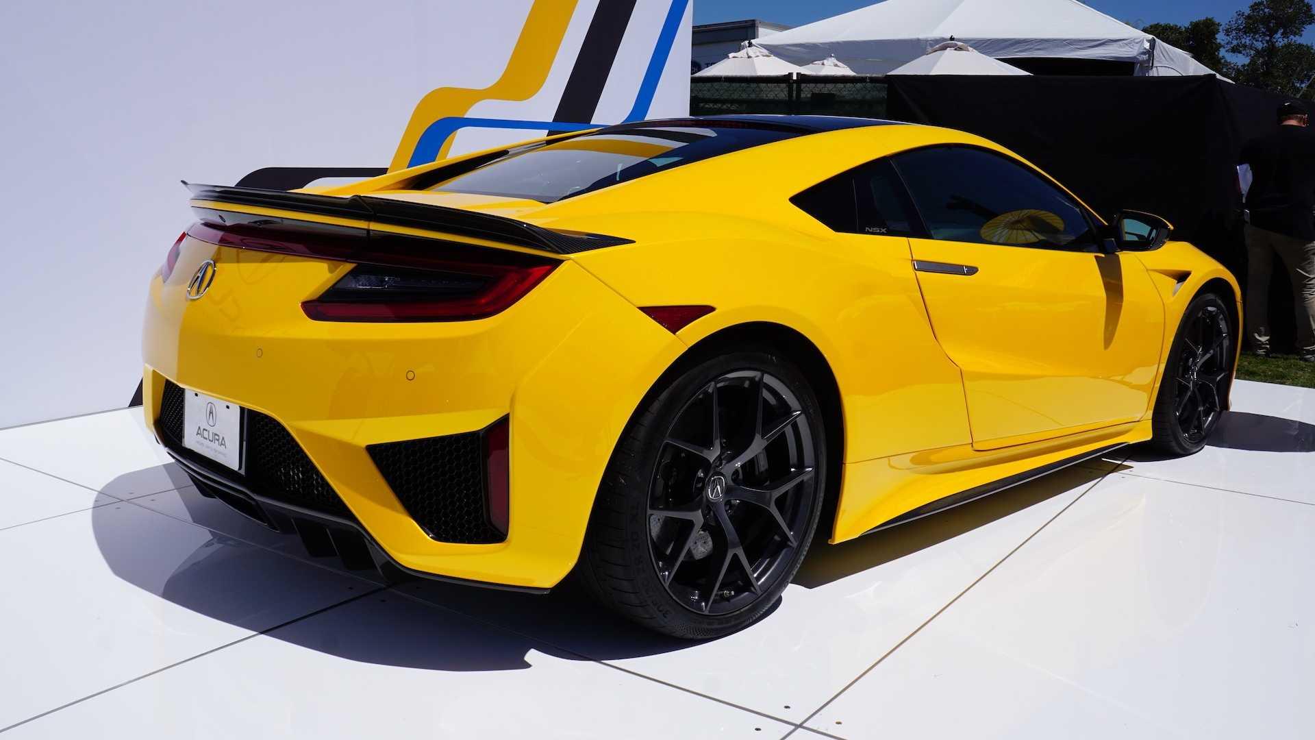 新增印地黄车漆涂装 新款讴歌NSX车型发布