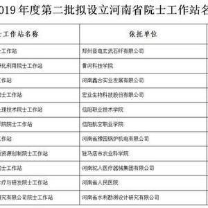 河南拟新增11家院士工作站 依托高校、科研院所设立的占比超过三分之一