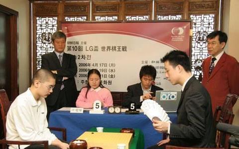 围棋历史:第五冠,古力击败陈耀烨