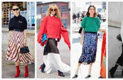 半身裙款式不少,但是这5款最遮肉显瘦,尽显女人味!