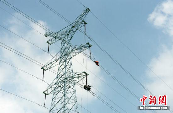 盐城供电为徐盐高铁带电联调试做准备