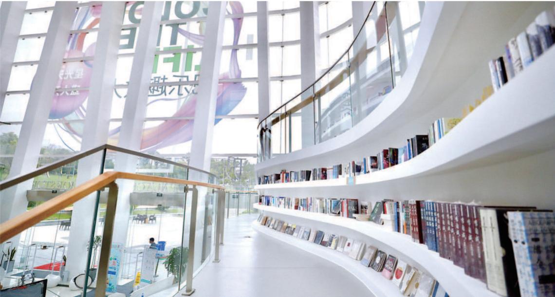 """大虹桥地区新添玻璃宫艺术书局:在""""颜值""""之外,打造多功能""""文化客厅"""""""
