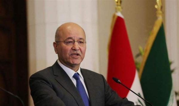 伊拉克总统萨利赫:伊朗与美国应通过对话缓和地区紧张局势